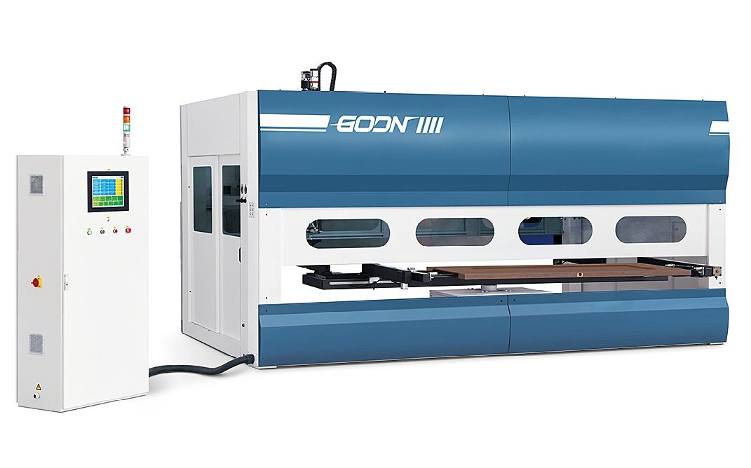 CNC 5-axis spraying machine